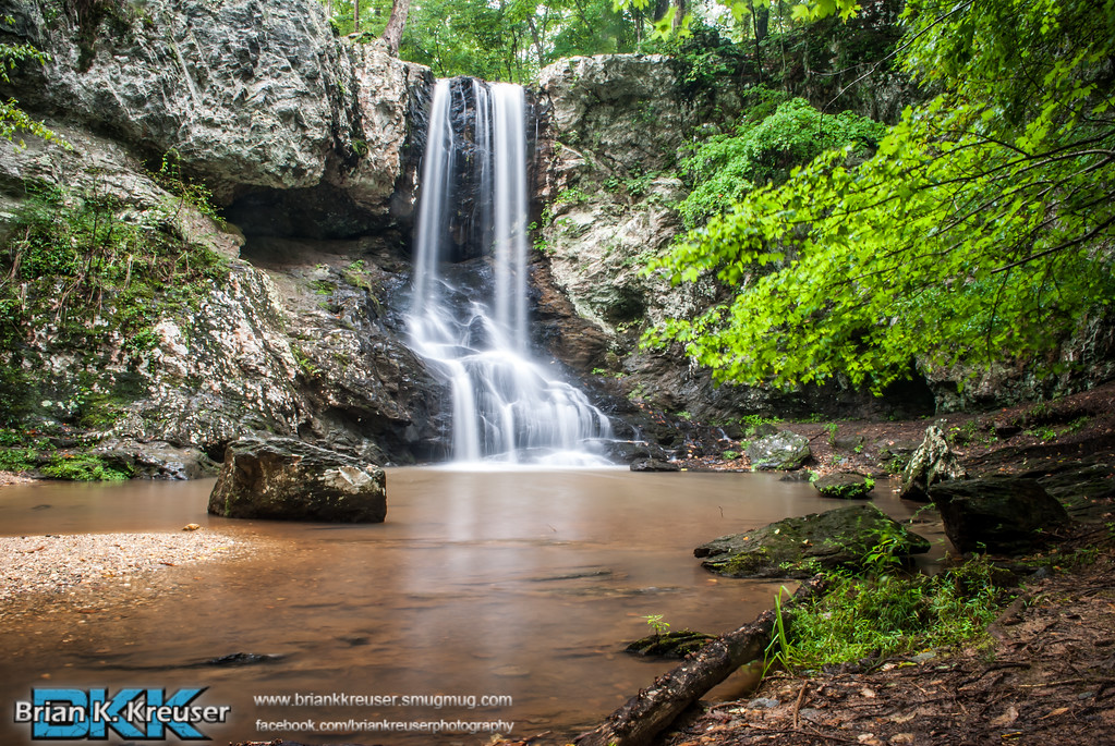 High Shoal Falls, Paulding Co.
