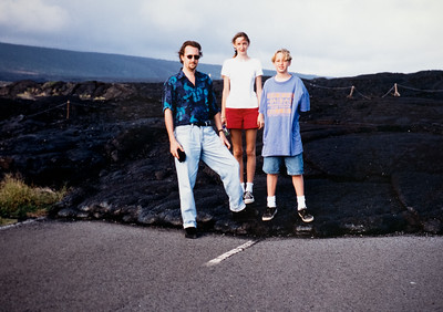 The Big Island: Dan, Erin, Thomas