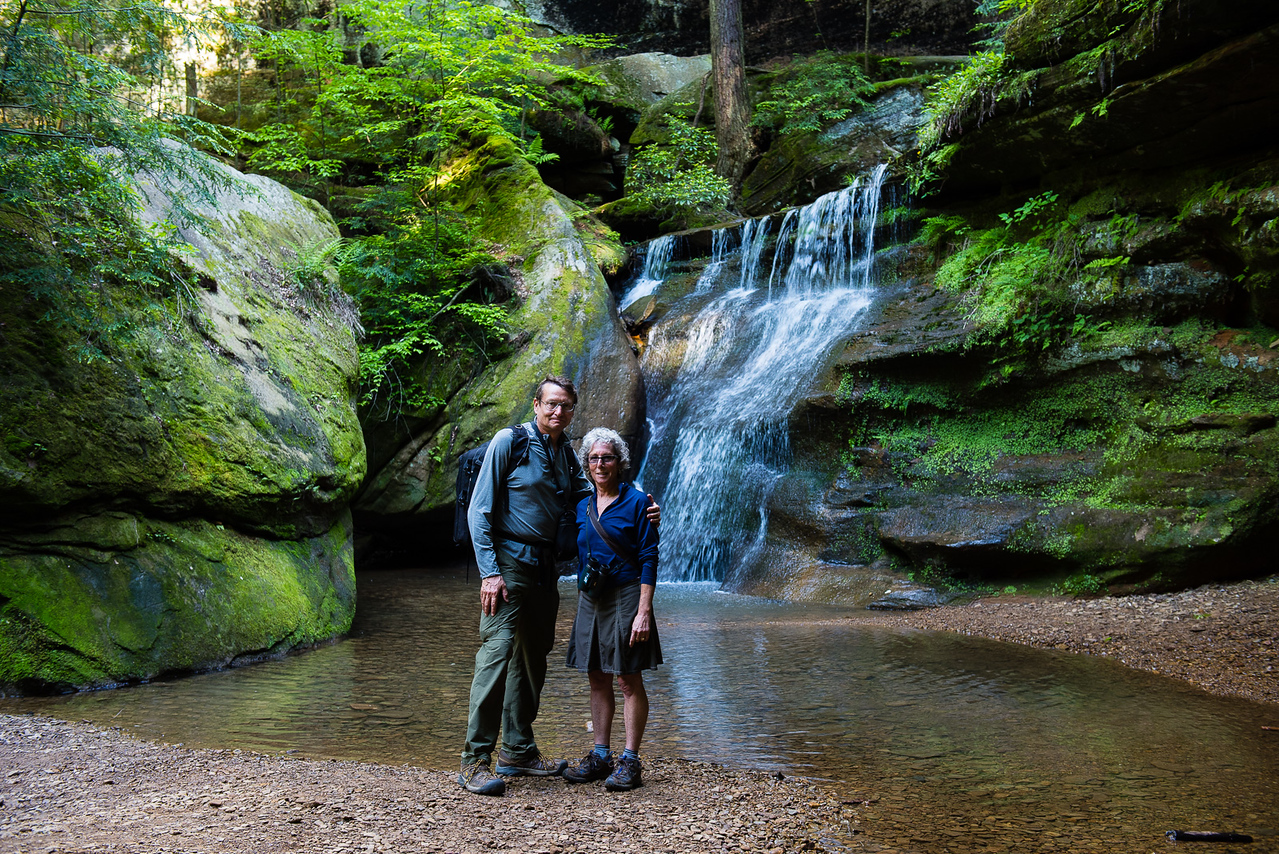 Hockinghills State Park, Ohio:  Cedar Falls area