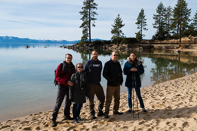 Sand Harbor, Lake Tahoe  December 2017