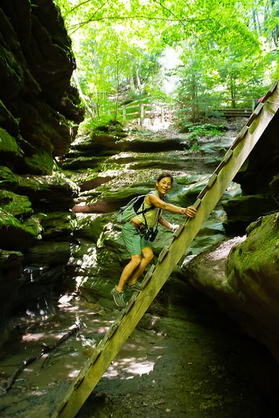 Melissa, Turkey Run State Park, Indiana