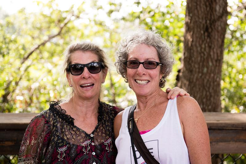 Sally and Robin, Wakodahatchee Wetlands   Nov 2017