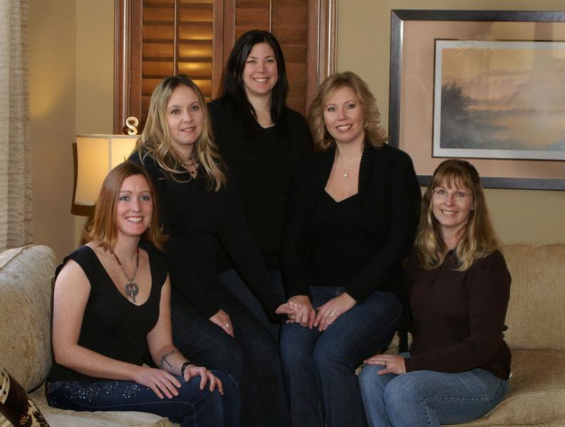 5 sisters portrait