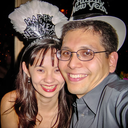 Selfie New Year's Eve...not quite 2002 yet