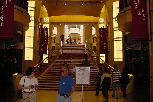 10 H&H - Stairs to Kodak Theatre