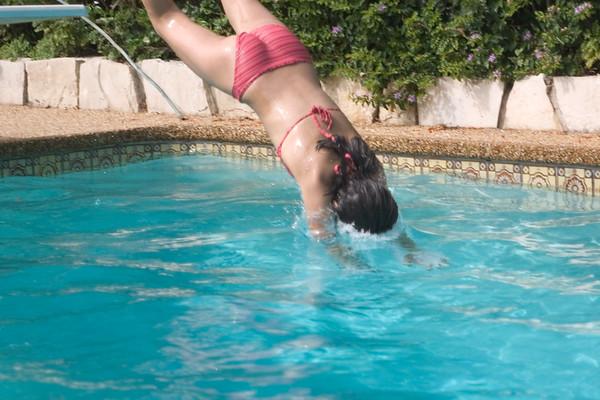 ...diving...