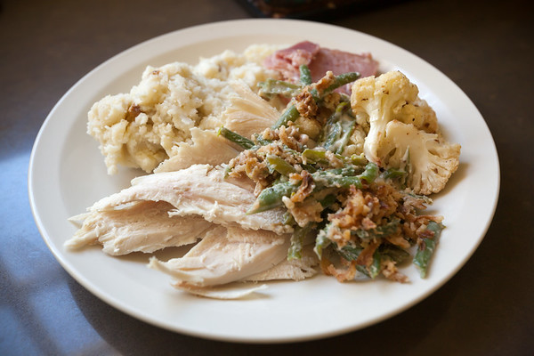 Thanksgiving leftovers, round 1