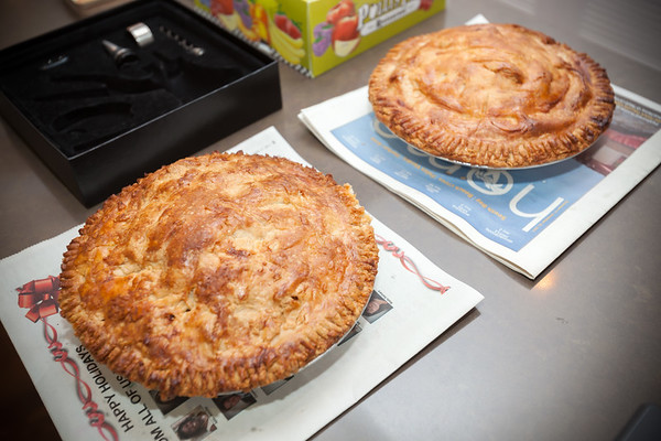 Dad's fresh baked apple pies