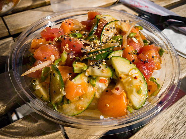 Big Daddy's Poke Shack is decent, but far from the best...L.A. has a lot of good options now.