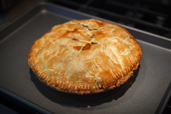 Valerie baked an apple pie...her very first