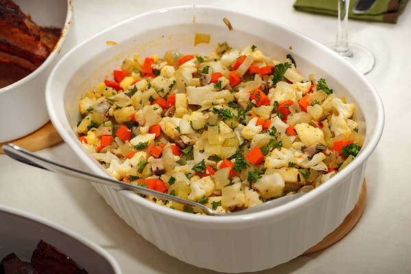 "Vegetable ""stuffing"""
