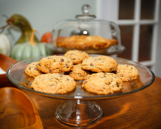 Valerie's famous chocolate chip cookies