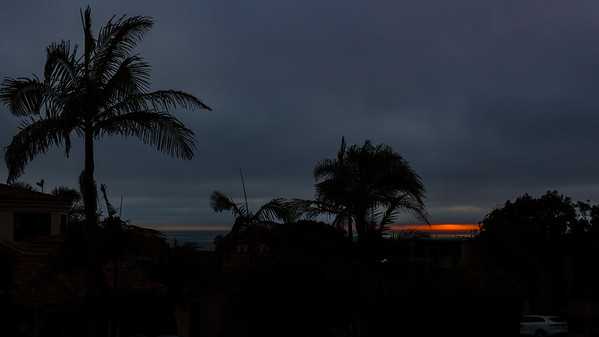 Was hoping for a spectacular sunset tonight, but this is all we appear to be getting