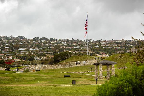 U.S. Flag near the Clubhouse