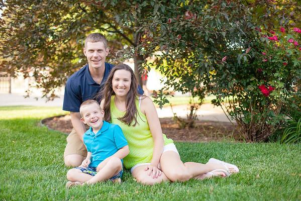 Bohme Family 2015