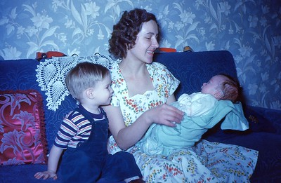 Mary, Marty and Baby Billie - Early 1953