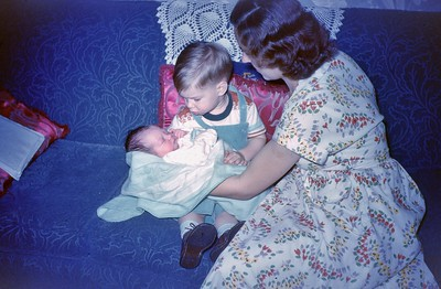 Mary Marty and Billie 1953