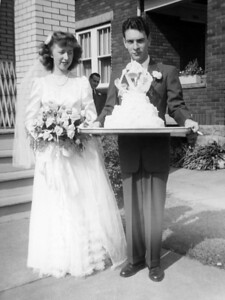 Joseph and Virginia Kling - Sept 28, 1946