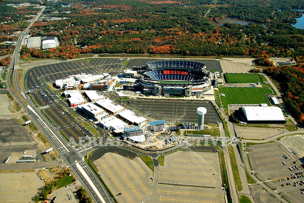 Gillette Stadium Foxborough Ma. Home of The New England Patriots