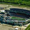 Gillette Stadium Foxborough Ma. Home of The New England Patriots