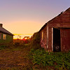 Do I watch the sun go down, or heed the sly allure of the wheel to unlock the barn's  dark secrets......<br /> Zeeland Township, Michigan