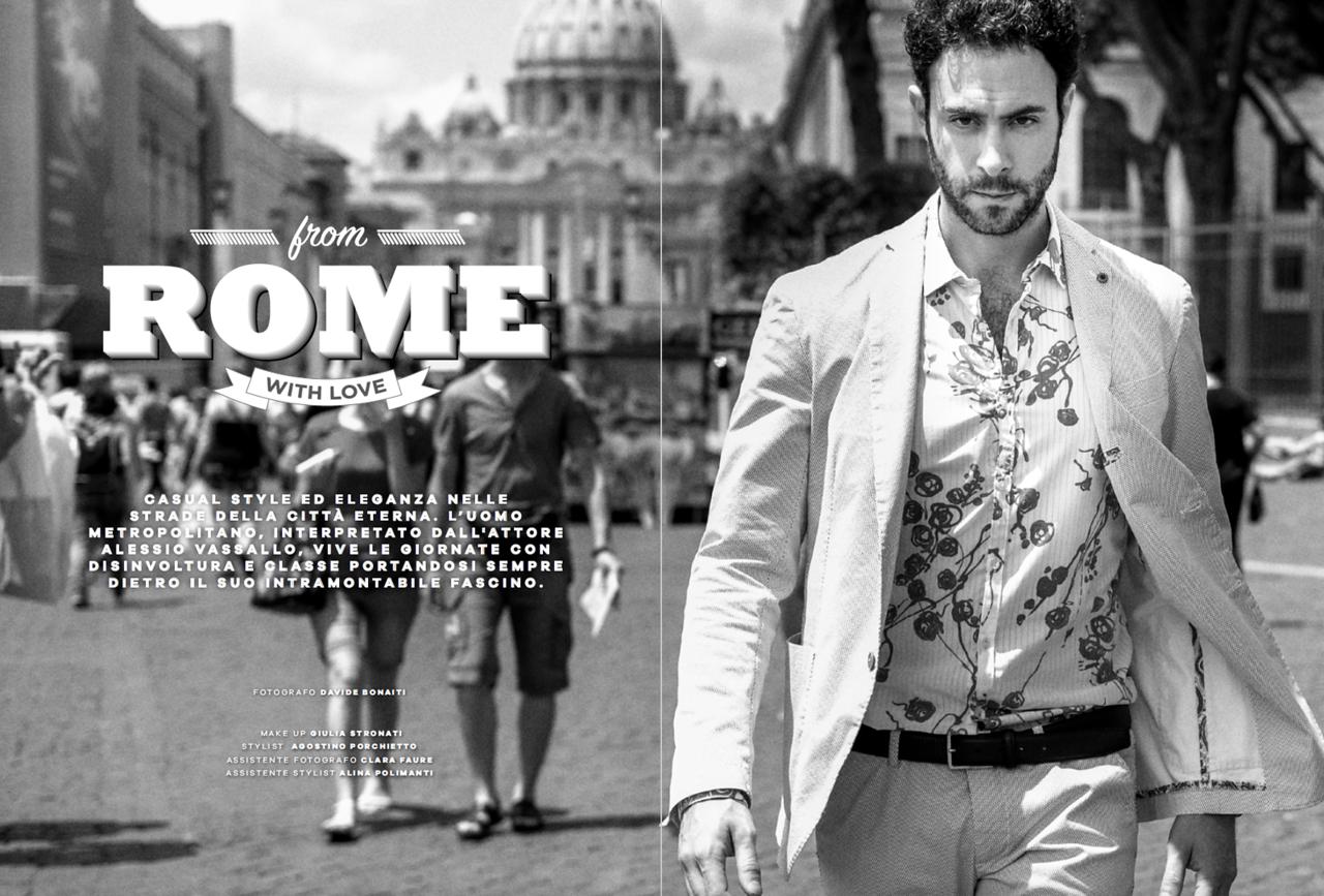 Alessio Vassallo - Playboy Italia - August 2016