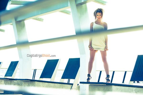 agency model Stephanie Dietz, and MUH Gabriela Santana