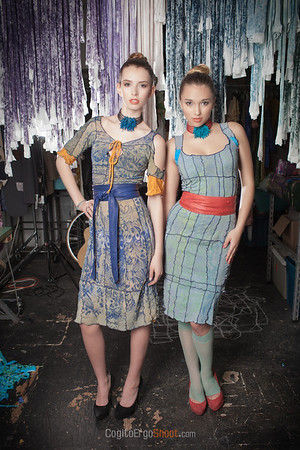 "agency models Emily Rose and Sierra Tasi-Baker wearing design by Katherine Soucie, Sans Soucie <a href=""http://www.sanssoucie.ca/"">http://www.sanssoucie.ca/</a>, and MUH by Heidi Chan, <a href=""https://www.facebook.com/MakeupbyHeidi"">https://www.facebook.com/MakeupbyHeidi</a>; January 2013"