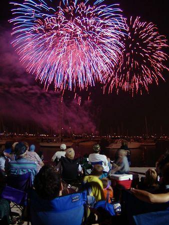 Fireworks Venetian Night Chicago