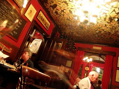 The Grenadier Pub is one of London's oldest pubs, supposedly haunted and also almost impossible to find