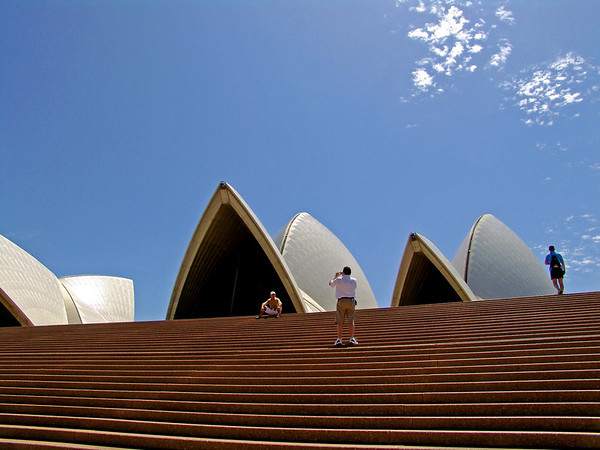 Sydney Opera House Stairs