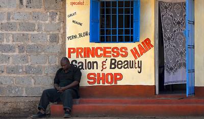 Waiting for the Lady.   Mombasa, Kenya.