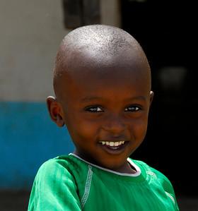 Cheerful Boy.     Kenya.