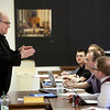 President-rector Fr. Denis Robinson, OSB, taught a class on Jansenism on February 11 in the Seminary and School of Theology.