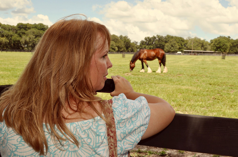Me with Horses