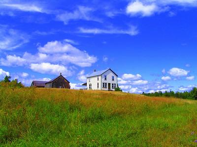 8  August  abandoned farm, Casey Rd, Union Falls, NY aug 12, 2006e-1
