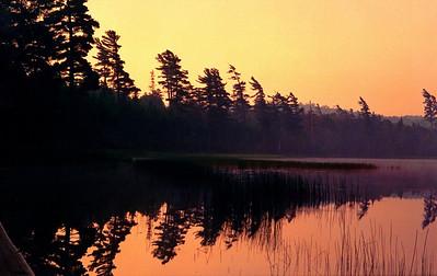 7  July  Sand Lake, Five Ponds Wilderness, July, 1988sm