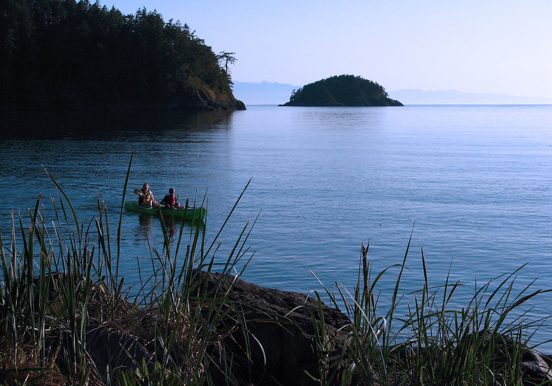 Deception Pass State Park, Whidbey Island, Washington.