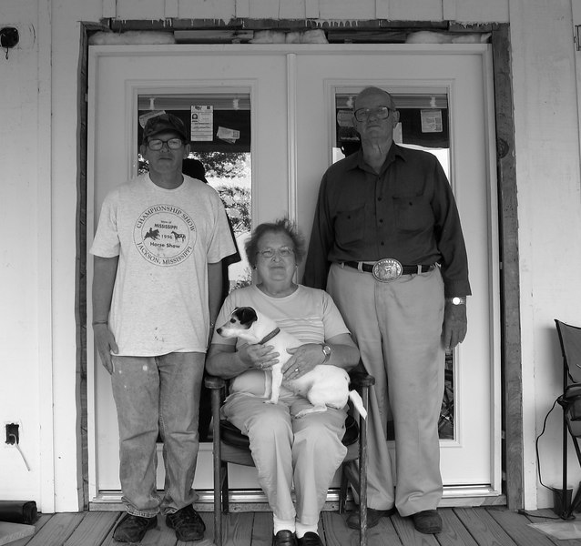 The Russ family of Pearlington, MS.