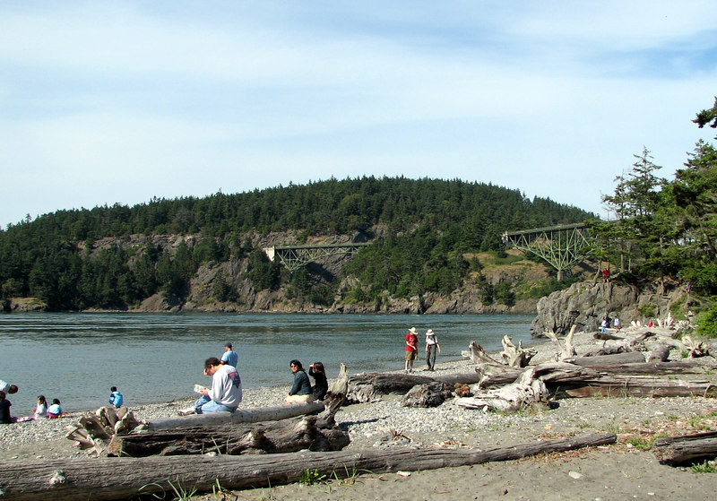 Deception Pass State Park, Whidbey Island, Washington.