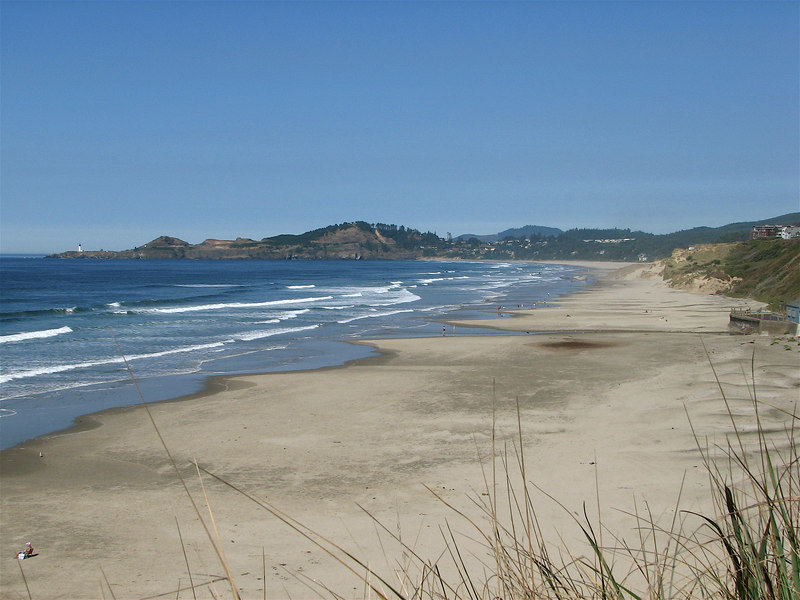 Nye Beach, Agate Beach, and Yaquina Head on a beautiful late September day.