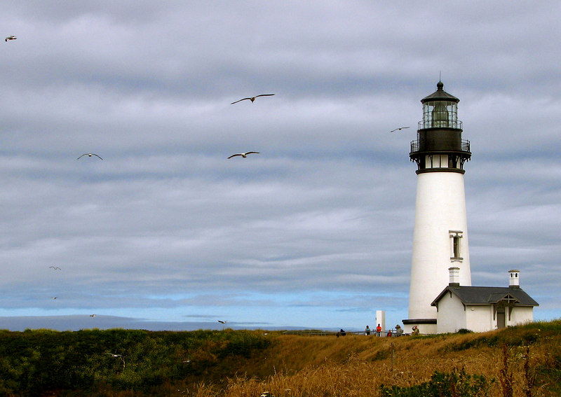 Yaquina Head Lighthouse -- recently restored.
