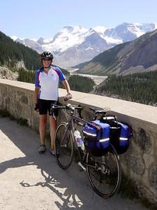 Biking in Canada (from Jasper to Banff) 2003
