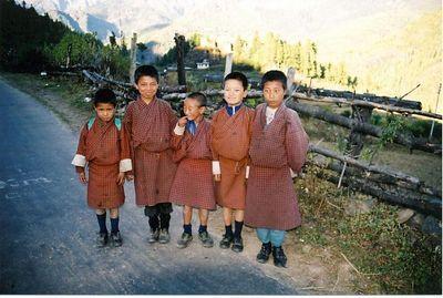 Bhutanese boys (2000)
