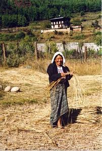 Bhutanese farmer