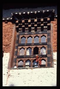 Window in Bhutan