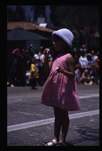 28 Solstice 2001 (girl and bubbles) 01