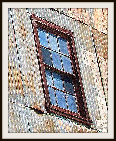Slanted window