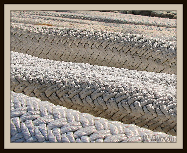 Ship Mooring Rope