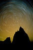#121 Star Trails, Temple of the Moon & Temple of the Sun, Capital Reef Natl. Park, UT